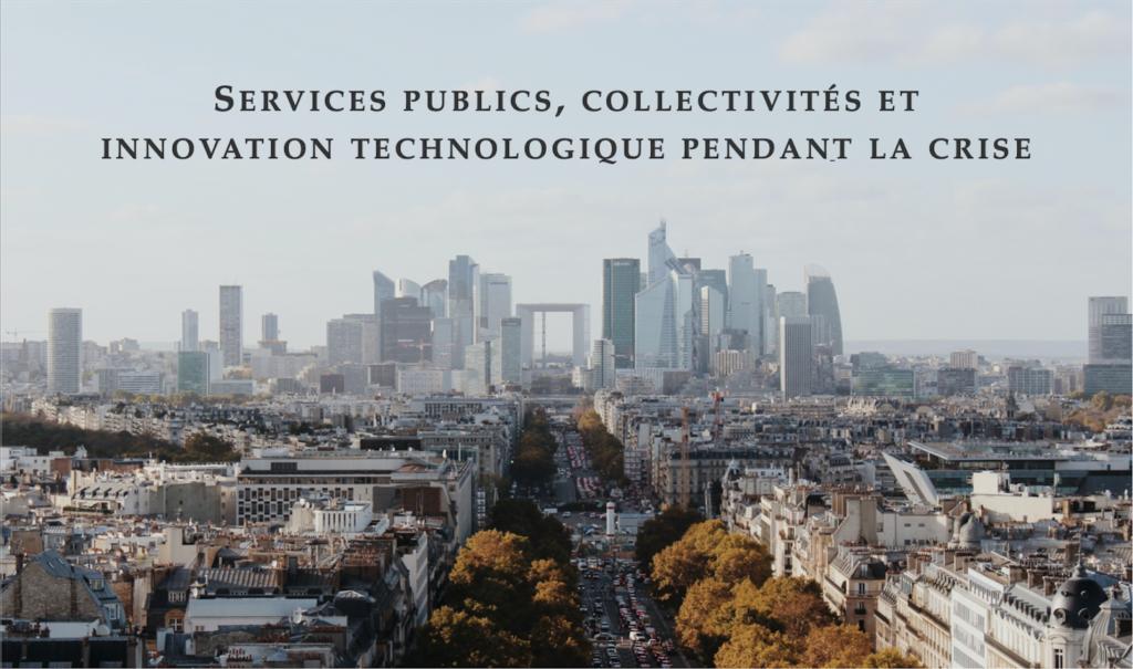 Affiche Webinaire - Services Publics